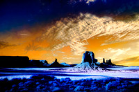 Monument Valley Infrared Fantasy