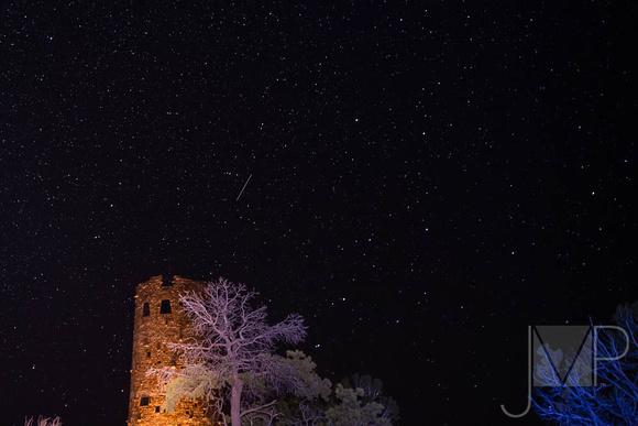 Desert View Watchtower at Night
