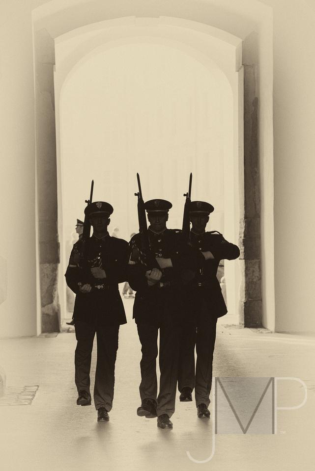 Prague guards