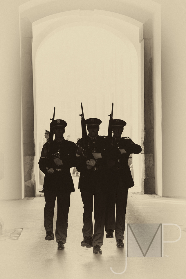 Prague guards