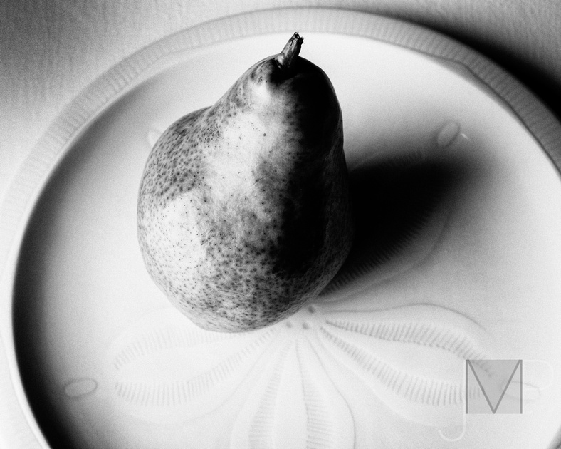 Pear on a Plate alt