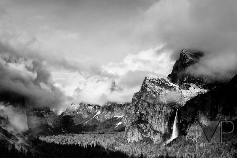 Yosemite with Gathering Storm