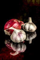 Garlic with onion