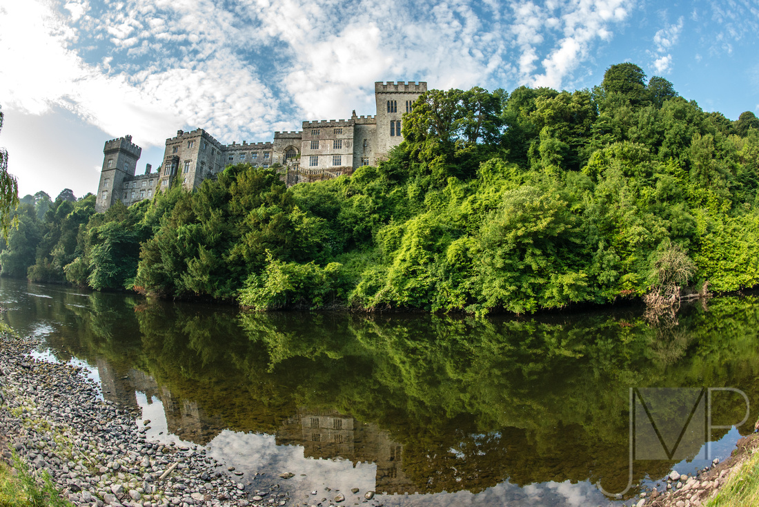 Castle from Blackwater River with Reflections